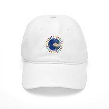 One Earth - One People Baseball Baseball Cap