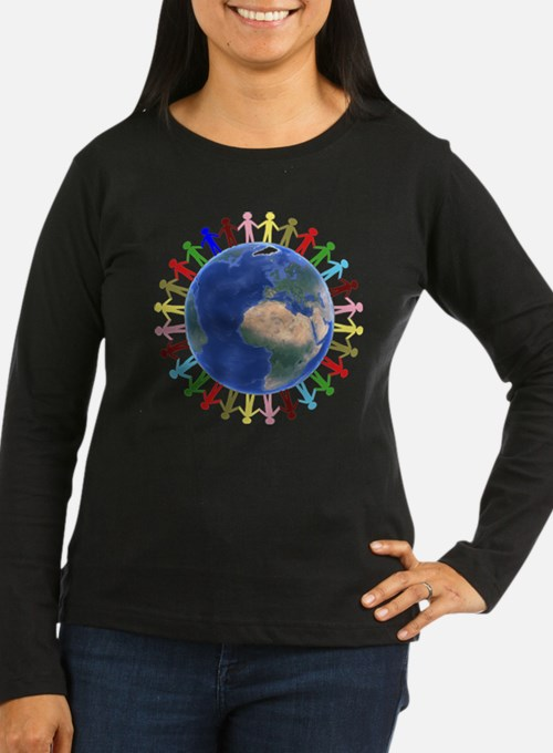 One Earth - One People Long Sleeve T-Shirt