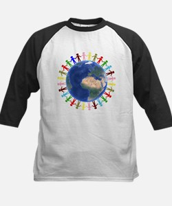 One Earth - One People Baseball Jersey