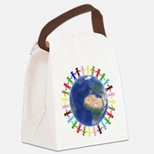One Earth - One People Canvas Lunch Bag
