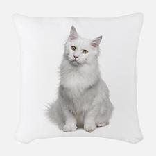 Angora Woven Throw Pillow