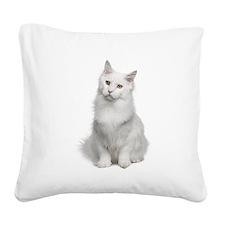 Angora Square Canvas Pillow