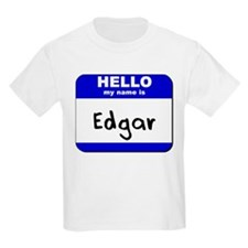 hello my name is edgar T-Shirt