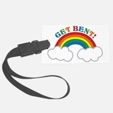 Get BENT with a cute pride RAINB Luggage Tag