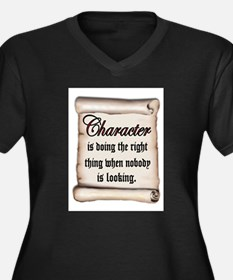 CHARACTER Plus Size T-Shirt
