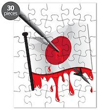 Japanese flag harpoon Puzzle