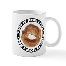 How I Roll Bagel Mug