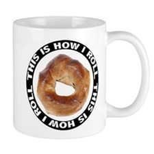 How I Roll Bagel Mug