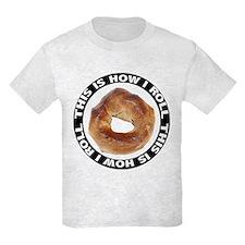 How I Roll Bagel T-Shirt