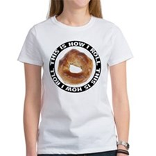 How I Roll Bagel Tee