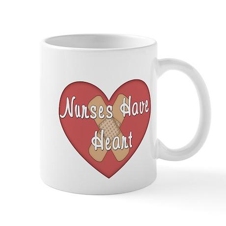 Nurses have Heart Mugs