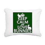 Bunny Rectangle Canvas Pillows
