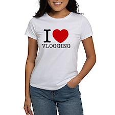 I Love Vlogging T-Shirt