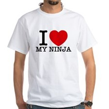 I Love My Ninja T-Shirt