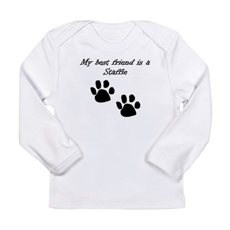 My Best Friend Is A Staffie Long Sleeve T-Shirt