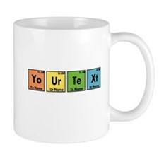 Personalized Your Text Periodic Table N Small Mug