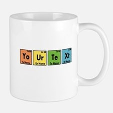 Personalized Your Text Periodic Table N Small Mugs
