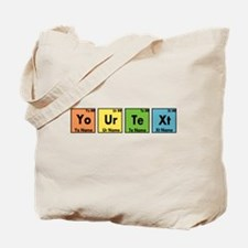 Personalized Your Text Periodic Table Ner Tote Bag