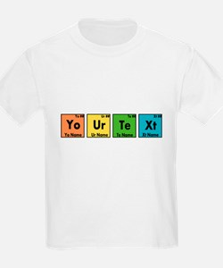 Personalized Your Text Periodic T-Shirt