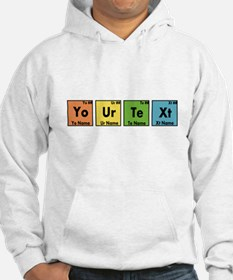 Personalized Your Text Periodic Hoodie