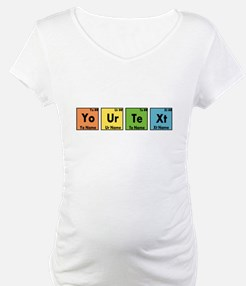 Personalized Your Text Periodic Shirt
