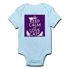 Keep Calm and Love Cats Body Suit