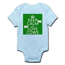 Keep Calm and Love Cows Body Suit