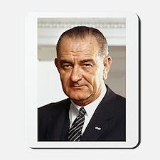 Lyndon B. Johnson Mousepad