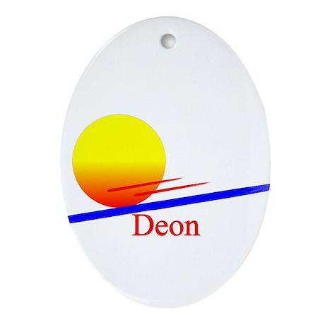 Deon Oval Ornament