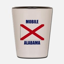 Mobile Alabama Shot Glass