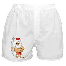Surfing Santa Boxer Shorts
