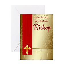 Congratulations Bishop Ordination Greeting Card
