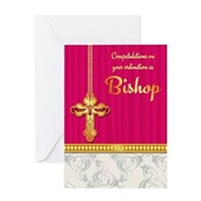 Congratulations Bishop Ordination Greeting Card