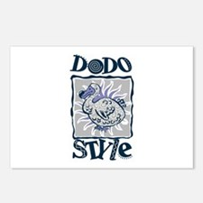 Dodo style Postcards (Package of 8)