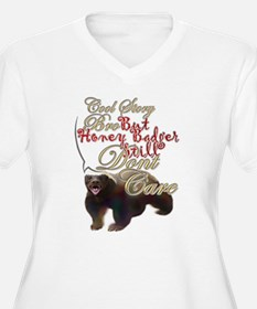 Honey Badger Cool Story Plus Size T-Shirt