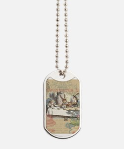 Mad Tea Party Dog Tags