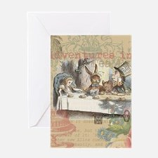 Mad Tea Party Greeting Cards