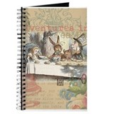 Alice in wonderland Journals & Spiral Notebooks