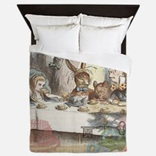 Mad Tea Party Queen Duvet