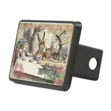 Alice in wonderland white rabbit Hitch Covers