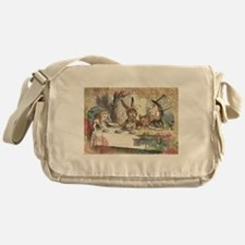 Mad Tea Party Messenger Bag