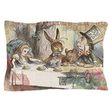 Mad Tea Party Pillow Case