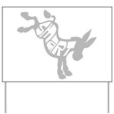 Smart Ass Donkey Yard Sign
