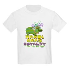 Mardi Gras Royalty Gator T-Shirt