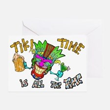 Tike Time is all the Time Greeting Card
