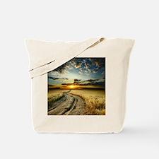 Western Road Tote Bag