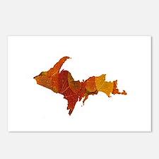 Autumn Leaves U.P. Postcards (Package of 8)
