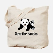 SAVE THE PANDAS Tote Bag