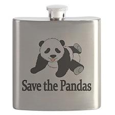 SAVE THE PANDAS Flask
