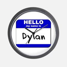 hello my name is dylan  Wall Clock